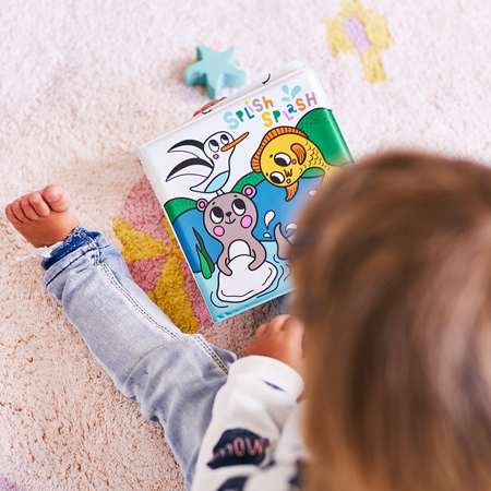 Picture of Petit Monkey® Splish Splash magic bath book land