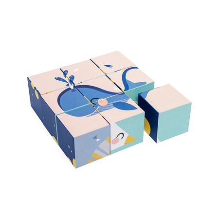 Picture of Petit Monkey® Oh shiny day Block puzzle 9 pcs