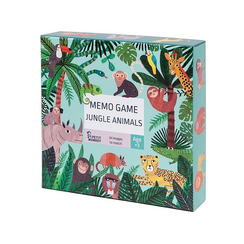 Picture of Petit Monkey® Memo game Jungle animals