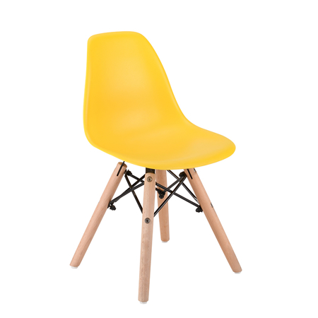 Picture of EM Scandinavian Inspired Kid's Chair Yellow