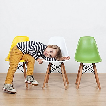 Picture of EM Scandinavian Inspired Kid's Chair Green