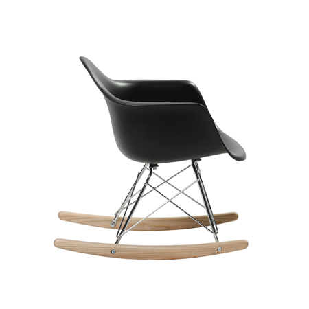 Picture of EM Scandinavian Inspired Kid's Rocking Chair Black