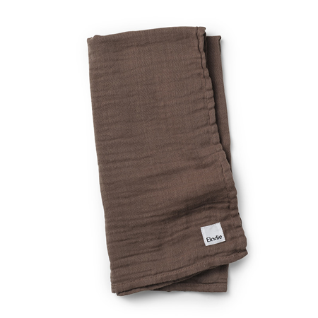 Picture of Elodie Details® Bamboo Muslin Blanket Chocolate