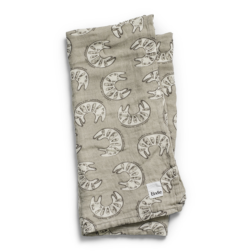 Picture of Elodie Details® Bamboo Muslin Blanket Kindness Cat