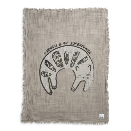 Elodie Details Soft Cotton Blanket - Kindness Cat