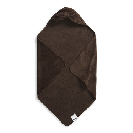 Picture of Elodie Details® Hooded Towel Chocolate Bow (80x80)