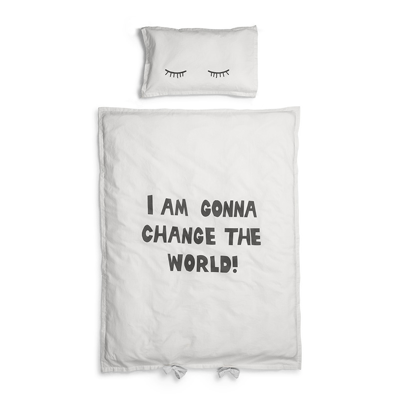 Picture of Elodie Details® Crib Bedding Set Change The World (100x130)