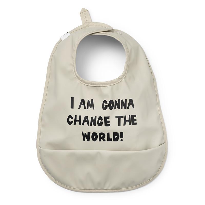 Picture of Elodie Details® Baby Bib Change the World