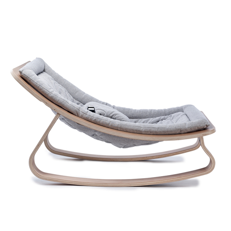 Charlie Crane® Baby Rocker LEVO with Grey cushion