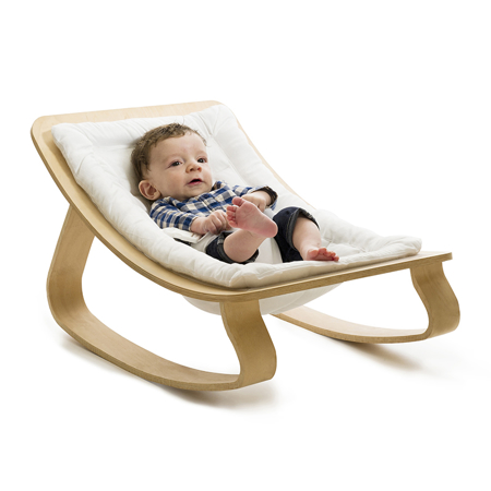 Picture of Charlie Crane® Baby Rocker LEVO with White cushion