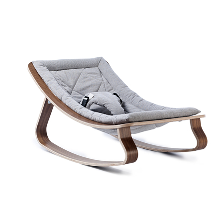 Picture of Charlie Crane® Baby Rocker LEVO with Noyer Grey cushion