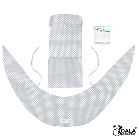 Picture of Koala Babycare® Pillowcases for pillow for pregnant women Hug Comfy Grey +