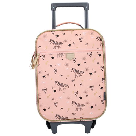 Picture of Kidzroom® Trolley Suitcase Fearless Pink