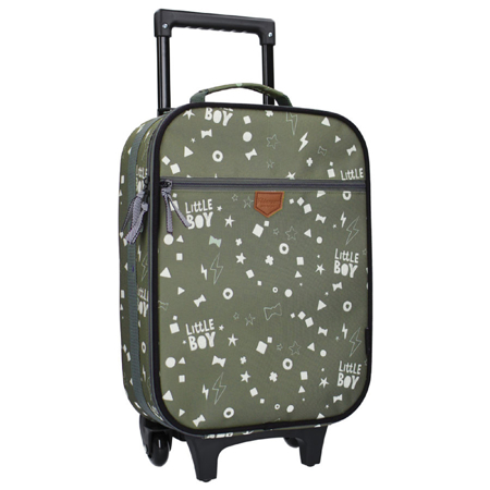 Picture of Kidzroom® Trolley Suitcase Fearless Army