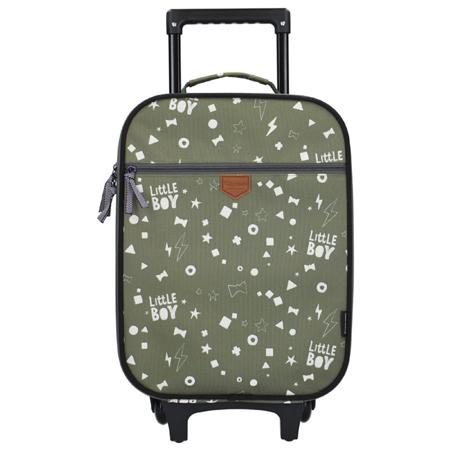 Kidzroom® Trolley Suitcase Fearless Army