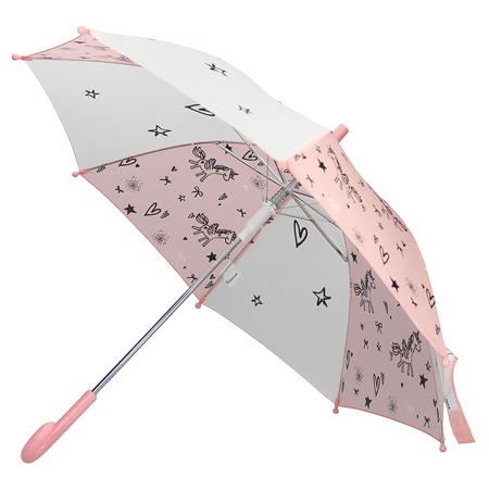 Kidzroom® Umbrella Fearless & Cuddle Peach