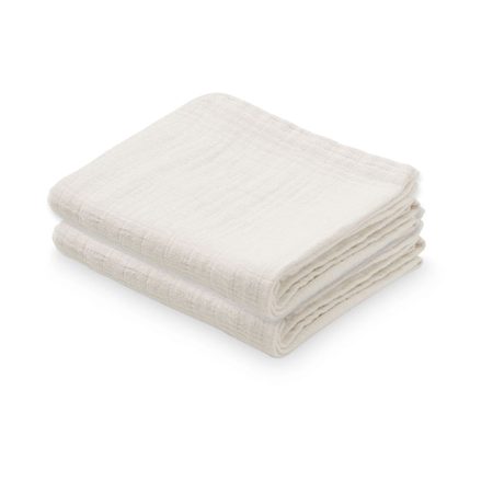 Picture of CamCam® Musling Cloth Creme White 2pack 70x70