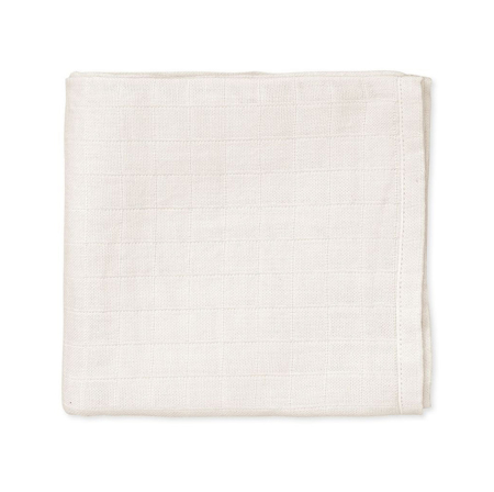 Picture of CamCam® Musling Cloth Creme White 2pack (70x70)