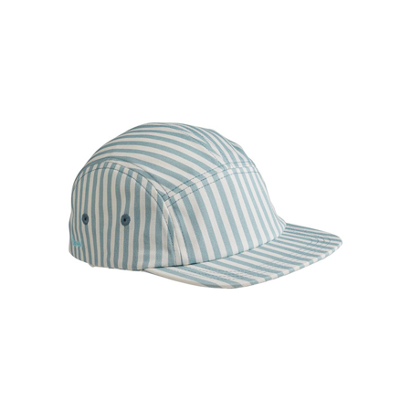 Picture of Liewood® Rory Cap - Sea Blue/White 6-12 M