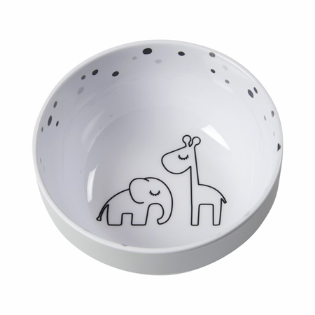 Picture of Done by Deer® Yummy mini bowl Dreamy dots Grey