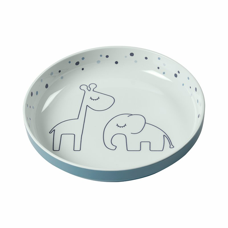 Picture of Done by Deer® Yummy mini plate Dreamy dots Blue