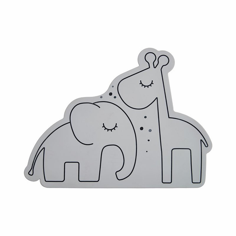 Picture of Done by Deer® Silicone placemat, Dreamy dots Grey