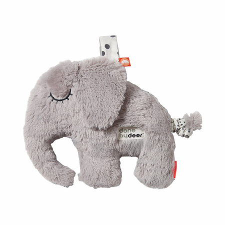 Picture of Done by Deer® Squeaker rattle Elphee Grey