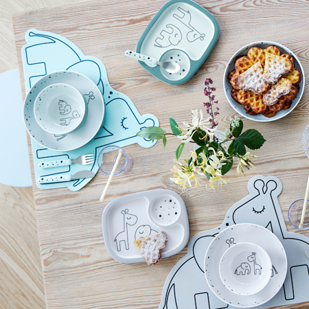 Picture of Done by Deer® Cutlery set, Dreamy dots Powder