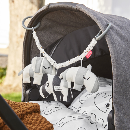 Picture of Done by Deer® Pram toy, Deer friends Grey