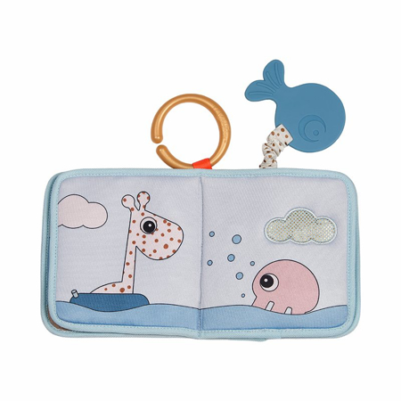 Picture of Done by Deer® Bath time book Sea friends