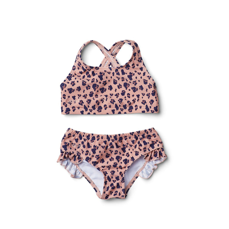 Picture of Liewood® Juliet Bikini - Mini leo/coral blush