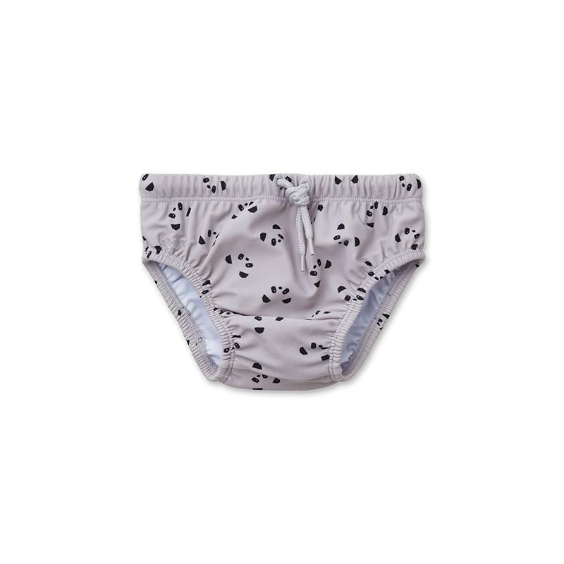 Picture of Liewood® Frej Baby Boy Swim Pants - Panda dumbo grey