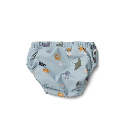 Picture of Liewood® Frej Baby Boy Swim Pants - Sea Creature Mix