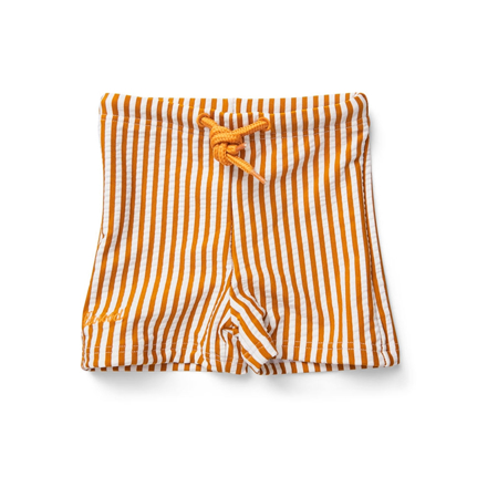 Picture of Liewood® Otto baby boy Swim pants Seersucker Mustard