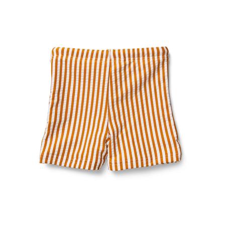 Picture of Liewood® Otto baby boy Swim pants Seersucker Mustard