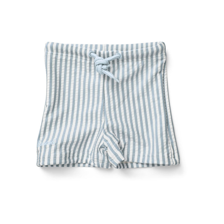 Picture of Liewood® Otto baby boy Swim pants Seersucker Sea Blue