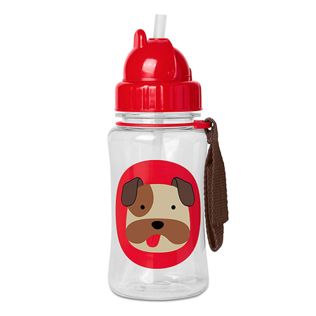 Picture of Skip Hop® Straw Bottle Buldog