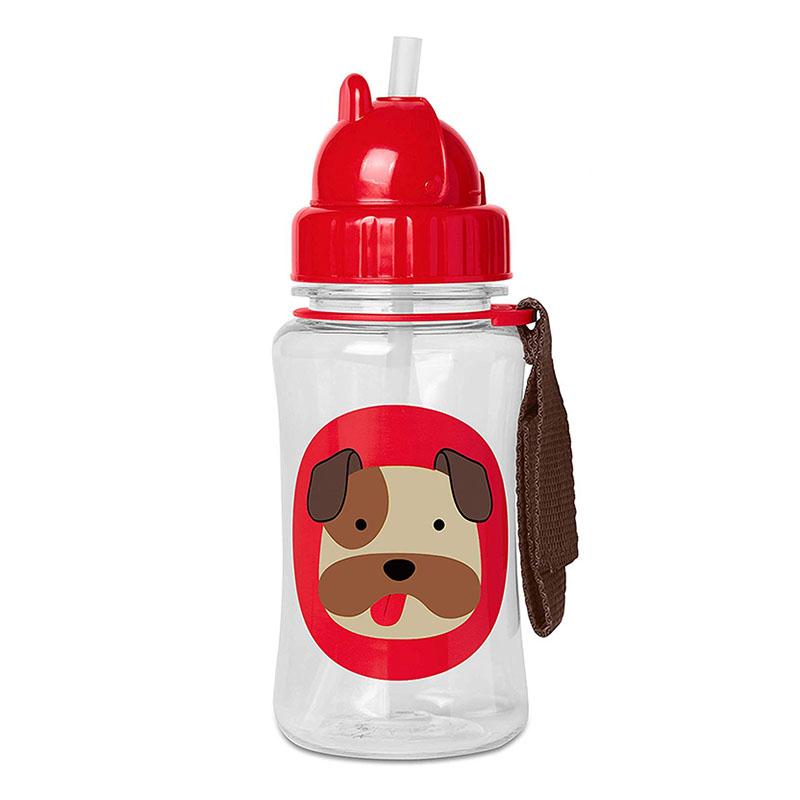 Picture of Skip Hop® Straw Bottle Buldog