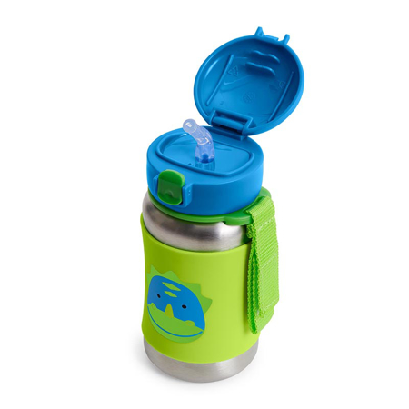Picture of Skip Hop® Stainless Steel Kids Straw Bottle Dinosaur