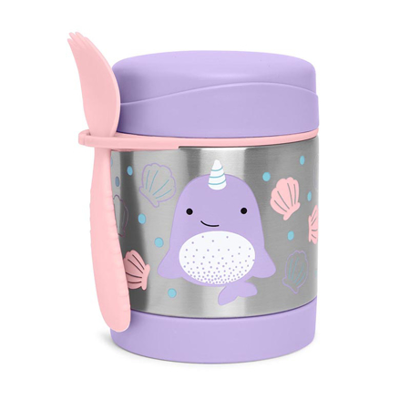 Picture of Skip Hop® Insulated Little Kid Food Jar Narwhal