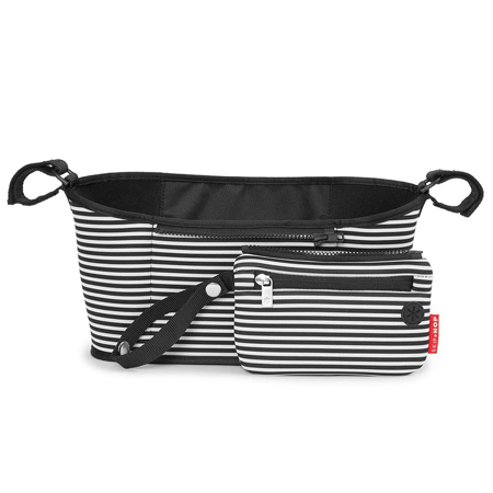 Picture of Skip Hop® Grab&Go Stroller Organizer Black & White Stripe