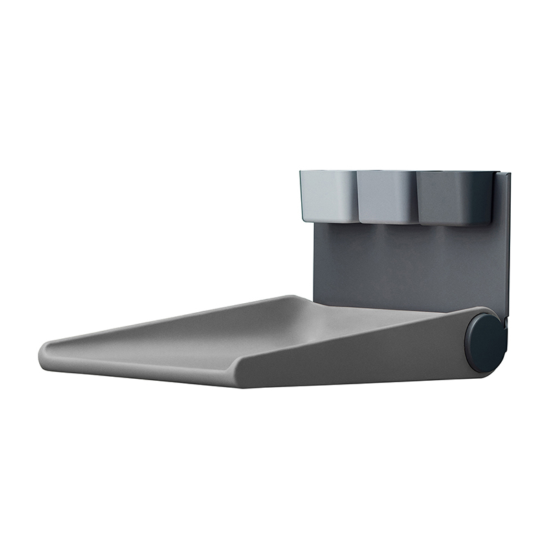 Picture of Leander® Wally™ Wall mounted changing table Dusty Grey
