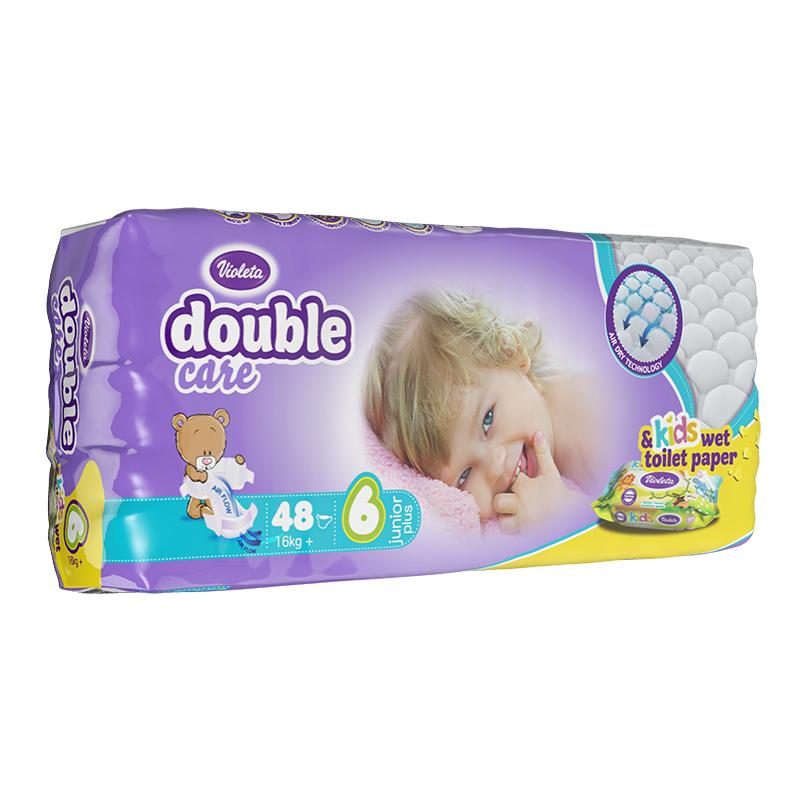 Picture of Violeta® Double Care Aircare 6 (16 kg+) 48 Pcs