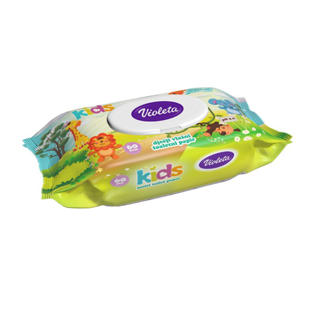 Violeta® Kids Moist Toilet Paper 60/1