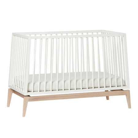 Picture of Leander® Luna™ Baby Bed wo. mattress 120x60 cm White/Oak