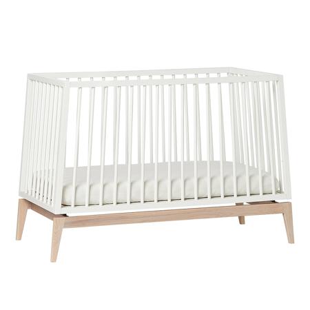 Picture of Leander® Luna™ Baby Bed wo. mattress 120x60 cm White/Oak
