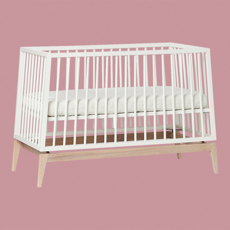 Leander® Luna™ Baby Bed wo. mattress 120x60 cm White/Oak