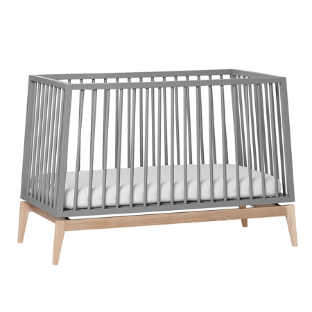 Picture of Leander® Luna™ Baby Bed wo. mattress 120x60 cm Grey/Oak