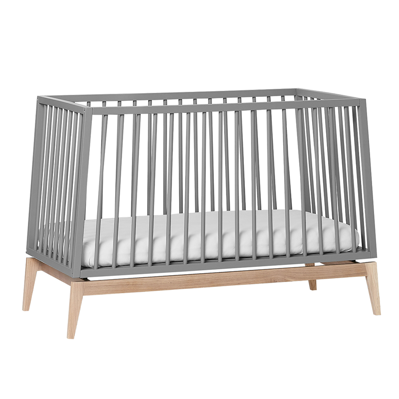 Picture of Leander® Luna™ Baby Bed wo. mattress 120x60 cm Grey/Oak