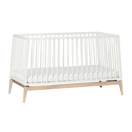 Picture of Leander® Luna™ Baby Bed wo. mattress 140x70 cm White/Oak